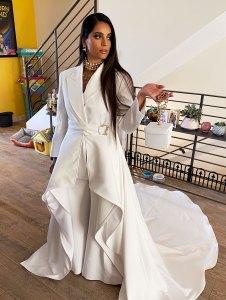 Lilly Singh Oscars 2020 Look BTS