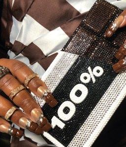 Lizzo's 2020 Brit Awards Manicure