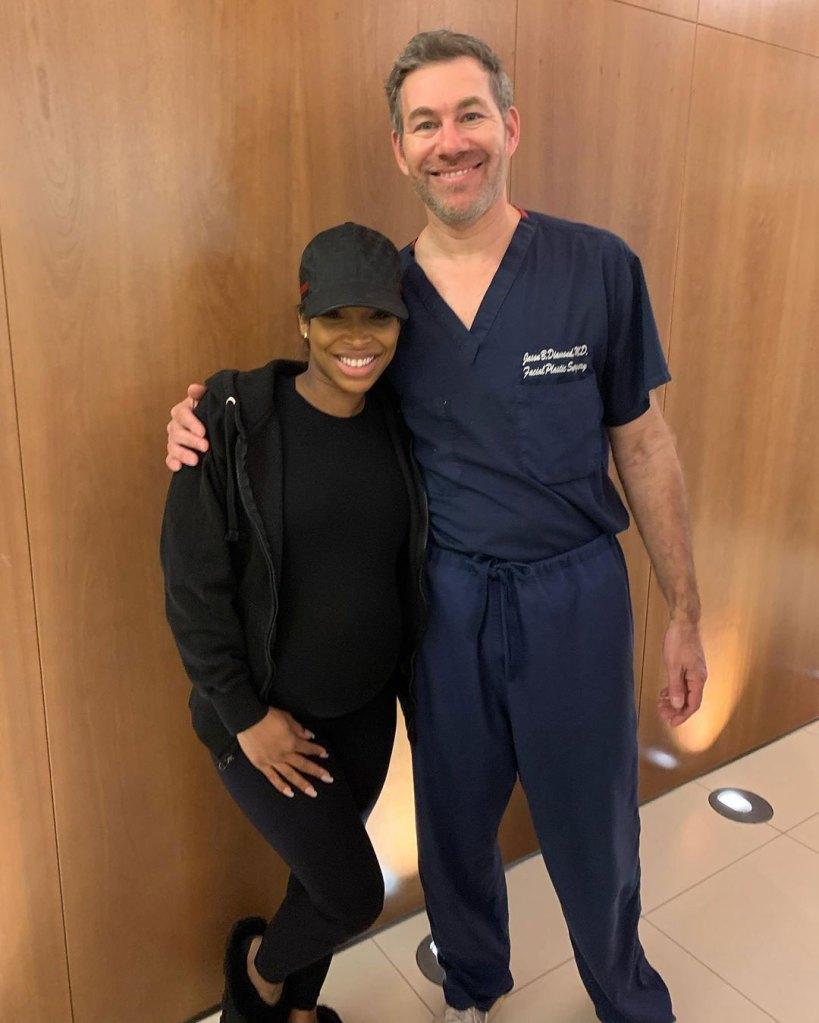 Malika Haqq Claims She's Not Getting Plastic Surgery After Pregnancy