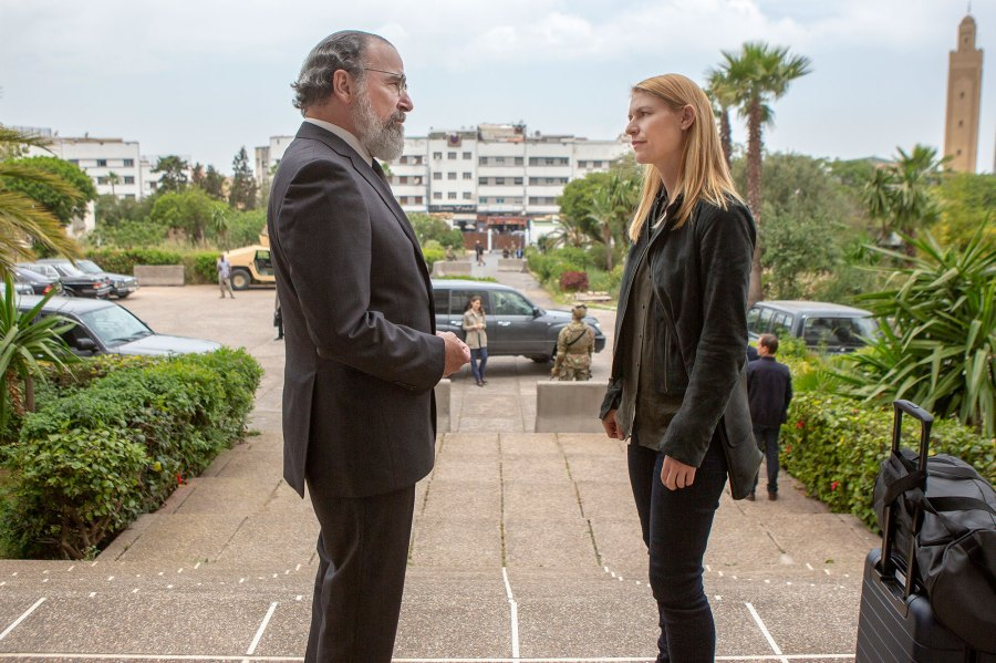 Mandy Patinkin and Claire Danes Homeland