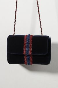 Maria La Rosa Little Velvet Crossbody Bag