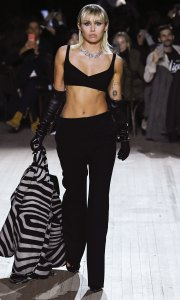 Miley Cyrus Walks the Runway at Marc Jacobs Show