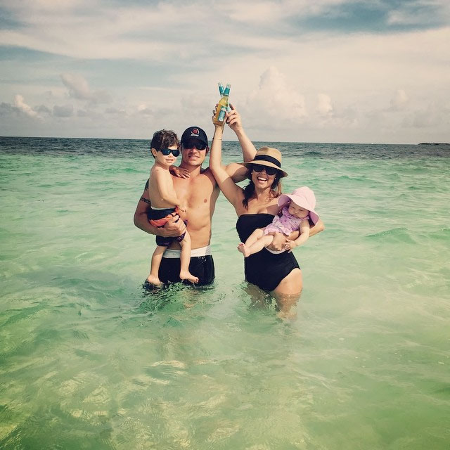 Nick Lachey Vanessa Lachey Family Album With 3 Kids
