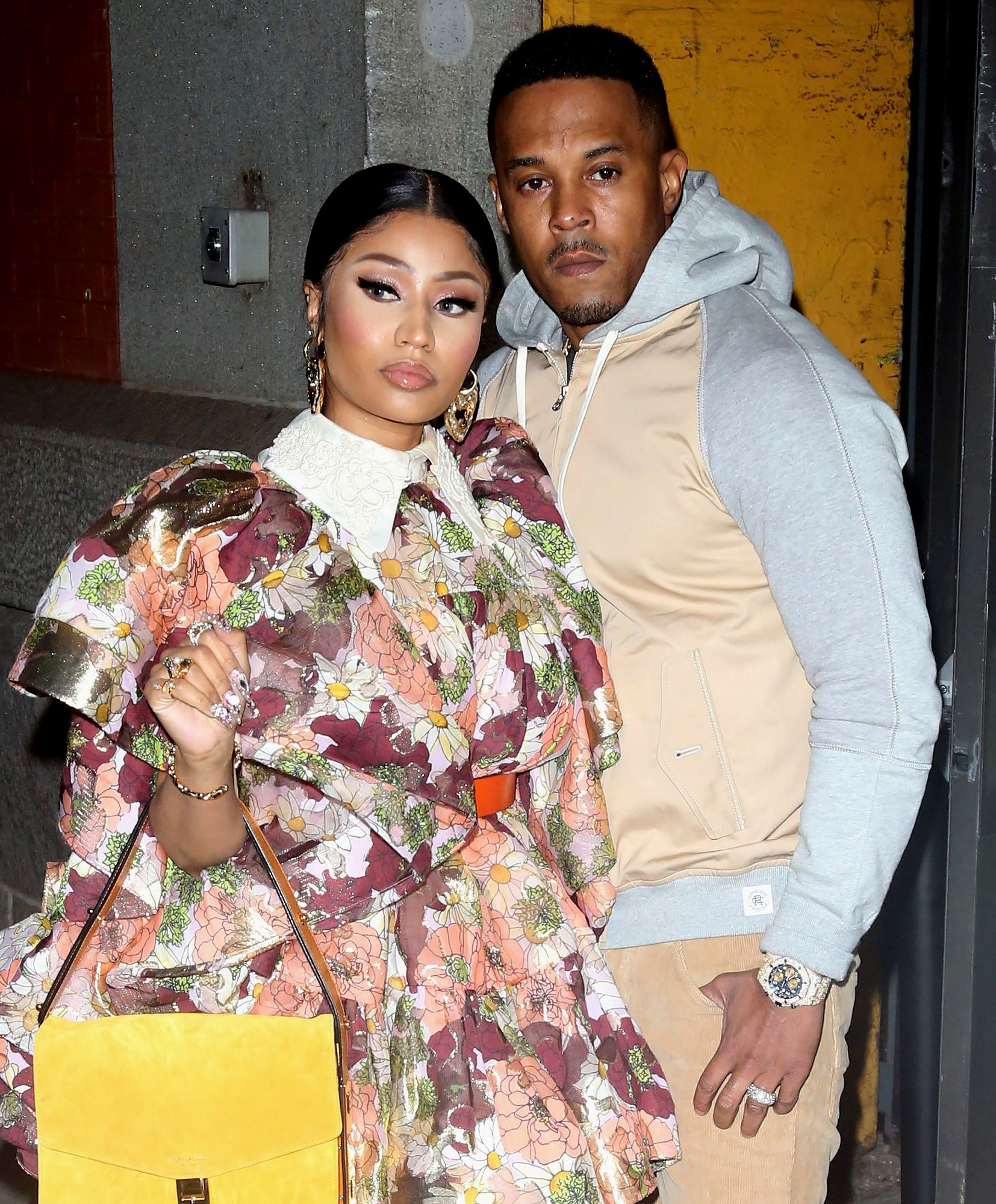 Nicki Minaj Kenneth Petty pregnant expecting
