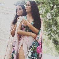 Nikki and Brie Bella's Baby Bump Album