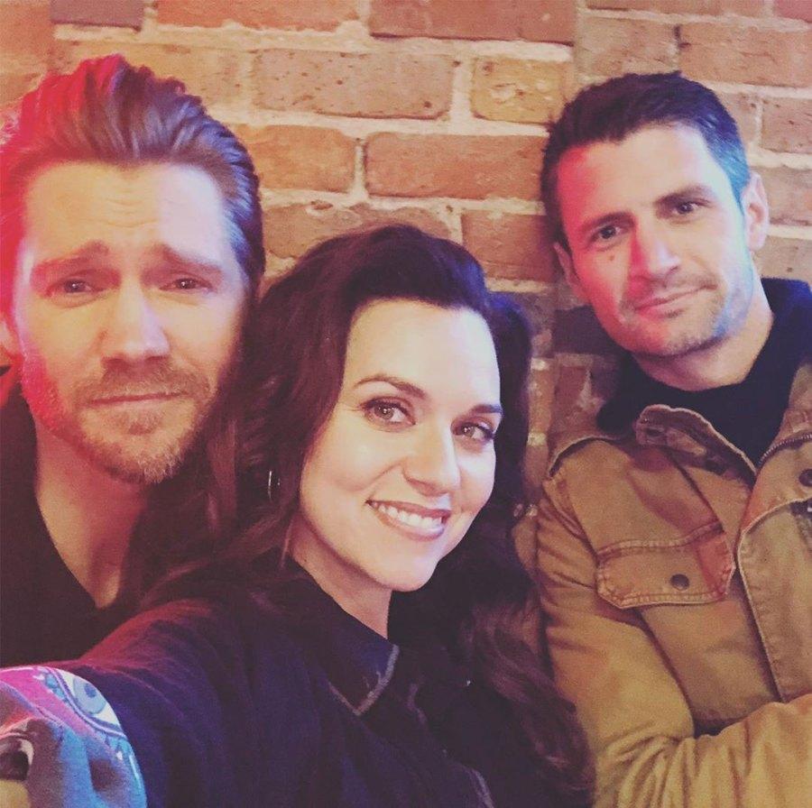 Chad Murray, Hilarie Burton and James Lafferty One Tree Hill Reunion
