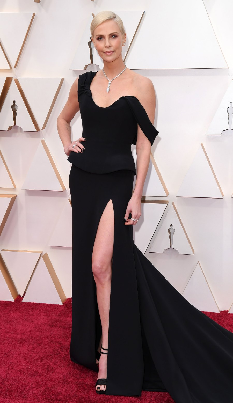 Oscars 2020 Arrivals - Charlize Theron