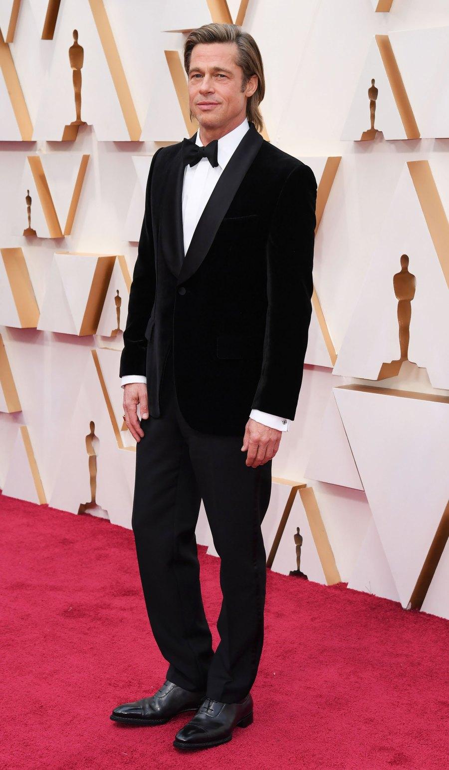 Oscars 2020 Best Dressed Men - Brad Pitt