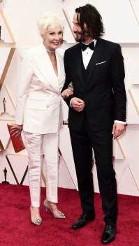 Keanu Reeves Oscars 2020 Family Members