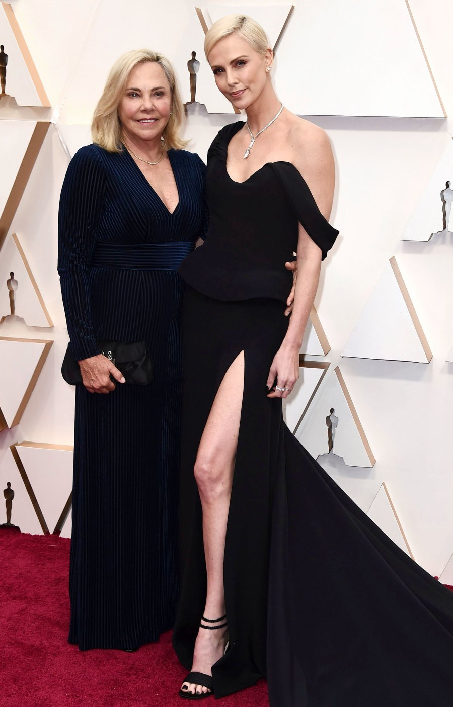 Charlize Theron Oscars 2020 Family Members