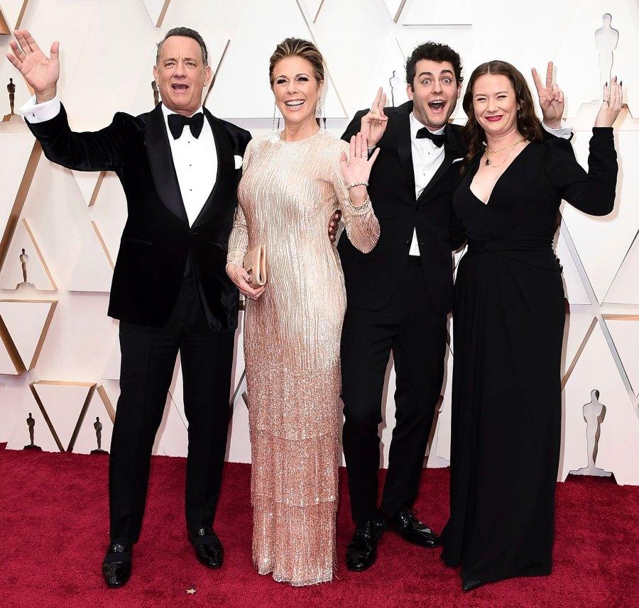 Tom Hanks Oscars 2020 Family Members