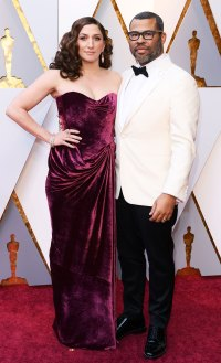 Oscars Most Stylish Couples All of Time - Chelsea Peretti and Jordan Peele