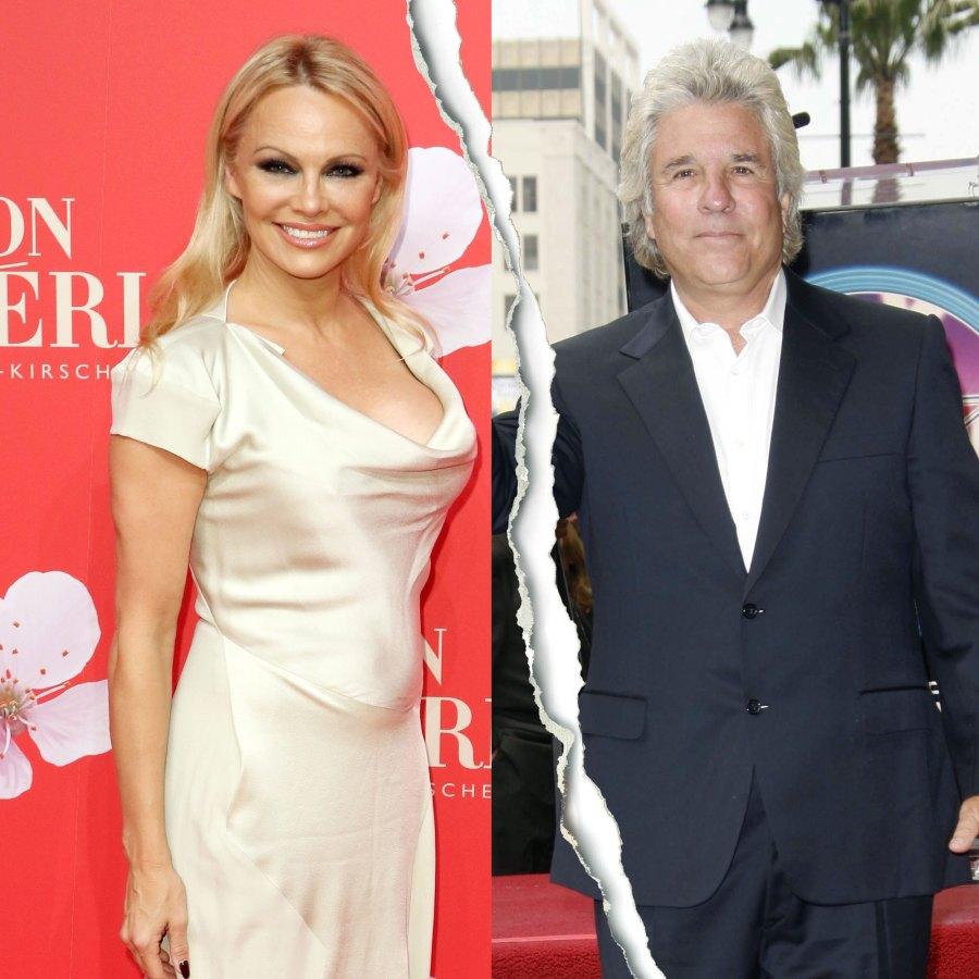 Celebrity Splits of 2020 Pamela Anderson and Jon Peters