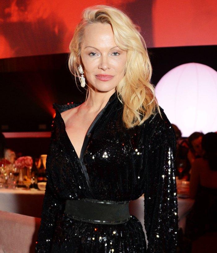 Pamela Anderson attends The British Fashion Awards in 2017 Jon Peters Engaged to Julia Bernheim Three Weeks Pamela Anderson Split