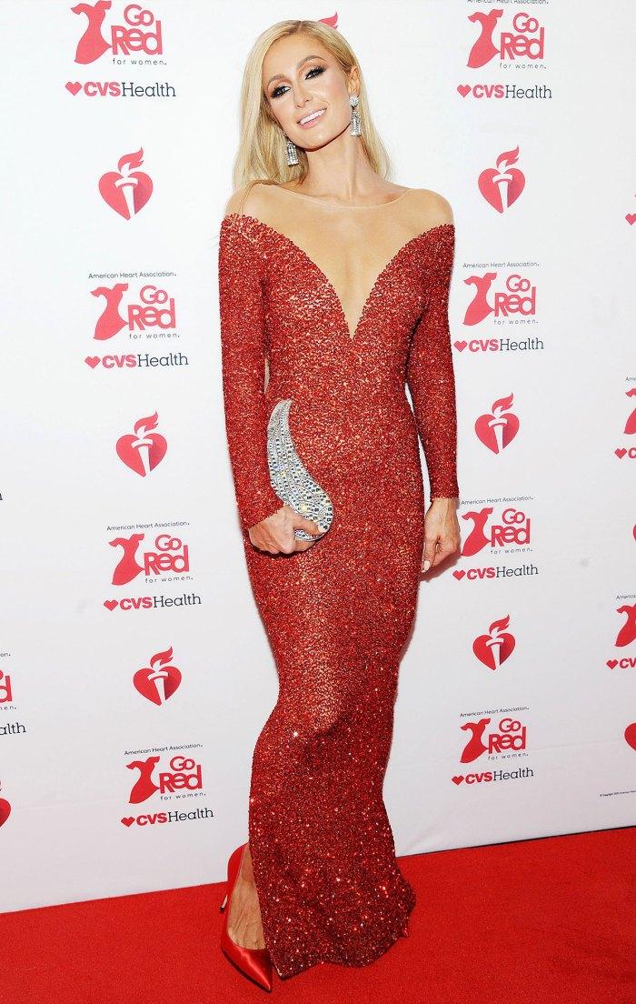 Paris Hilton American Heart Association's Go Red for Women