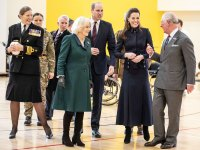 Prince William and Duchess Kate Join Prince Charles and Duchess Camilla for Rare Joint Engagement at Military Facility