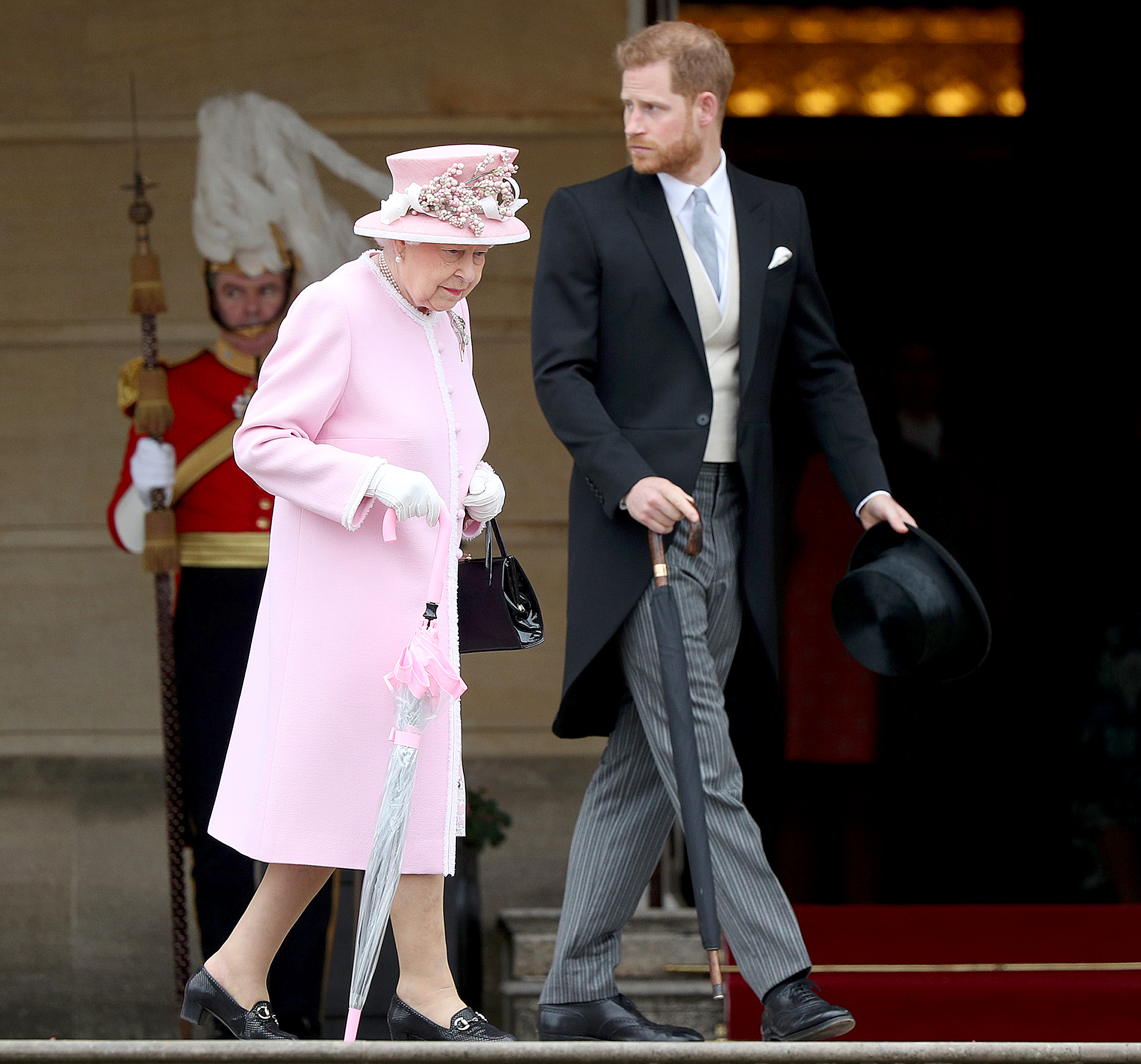 Queen-Elizabeth-II-Is-'Disappointed'-in-Prince-Harry's-Response-to-Trademark-Block