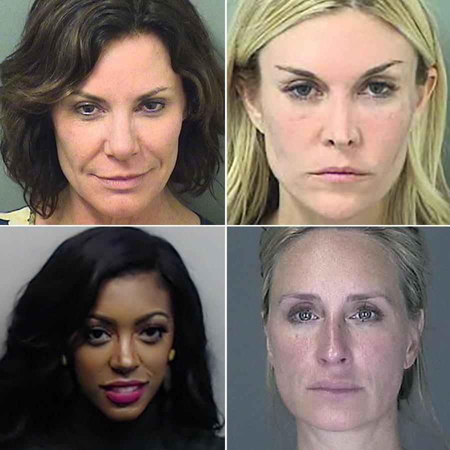 Real Housewives mugshots