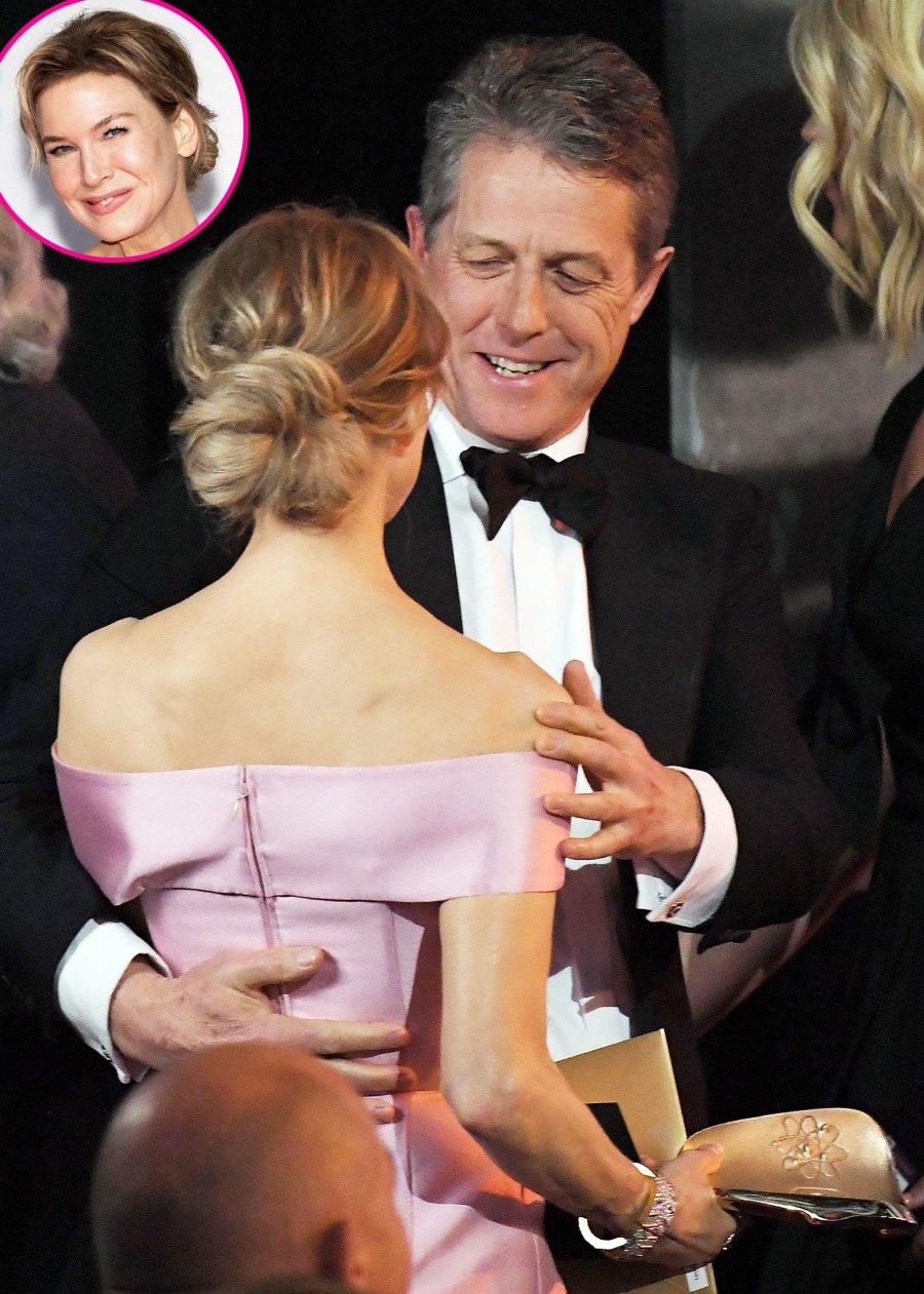 Renee Zellweger and Hugh Grants at BAFTAs Costars Reunited