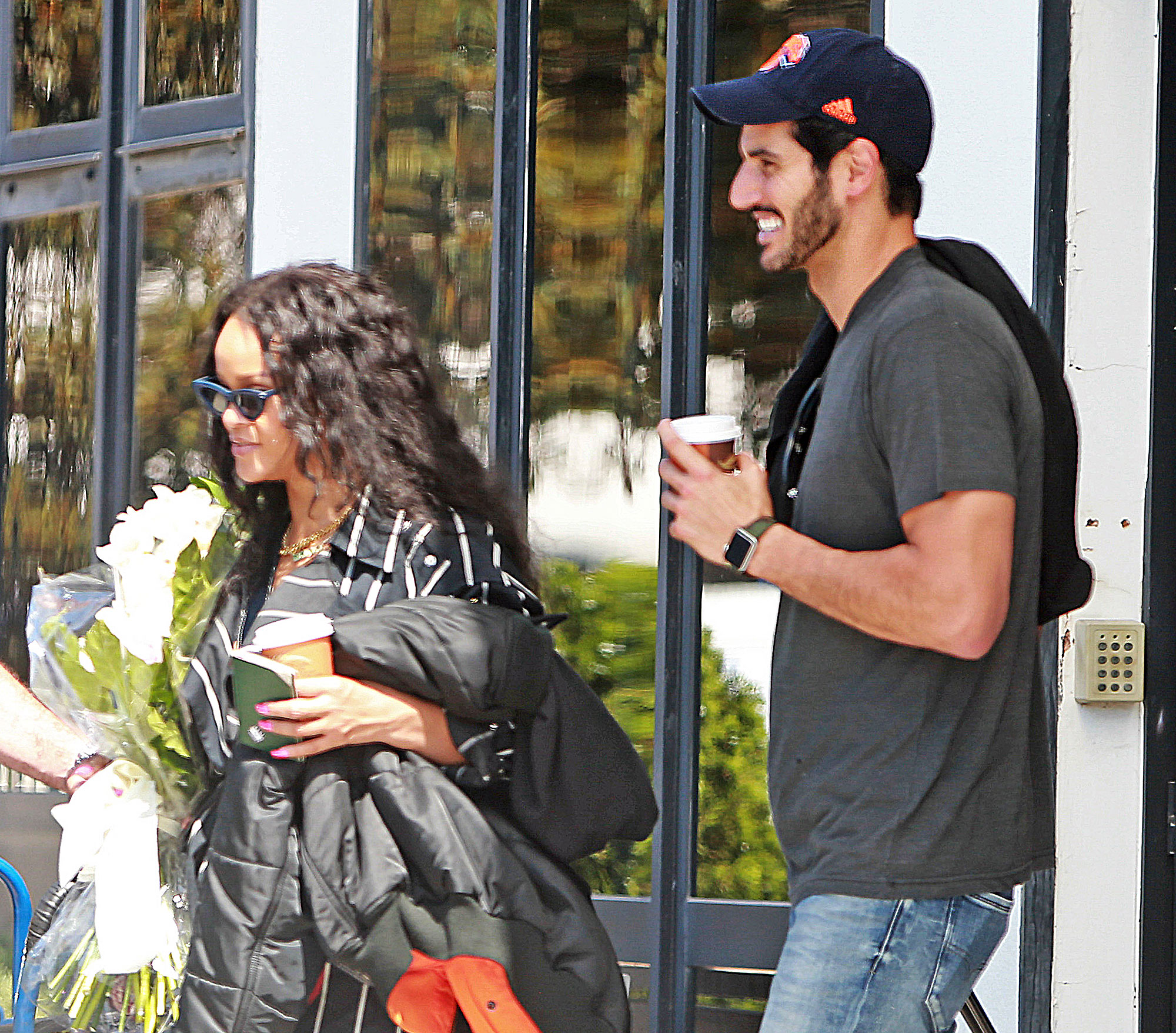 Rihanna and Hassan Jameel in Ibiza Rihanna and A$AP Rocky Are Hooking Up After Her Split From Hassan Jameel