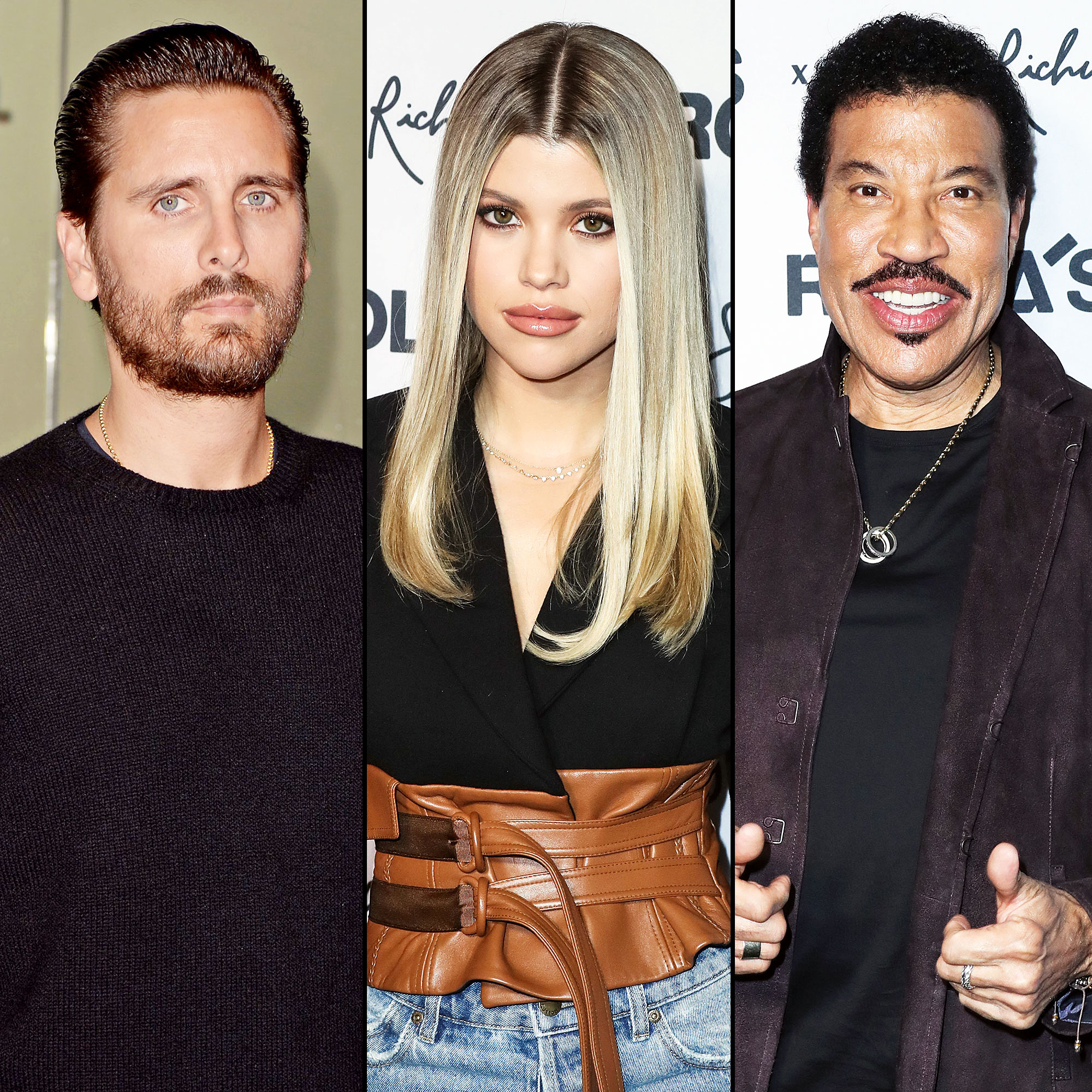 Scott Disick Spotted Getting Cozy With Sofia Richie During Night Out With Lionel Richie at Rolla x Sofia Richie Collection Launch Event