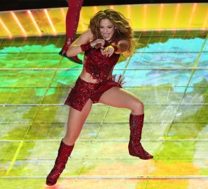 Shakira Superbowl LIV Halftime Show Performance Red Boots