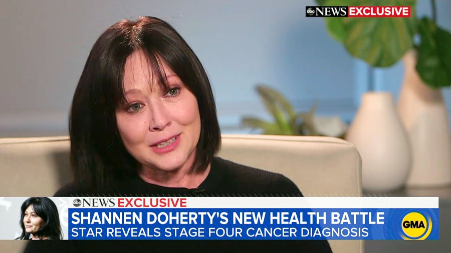 Shannen Doherty Stage IV Cancer Diagnosis Celebrity Health Scares