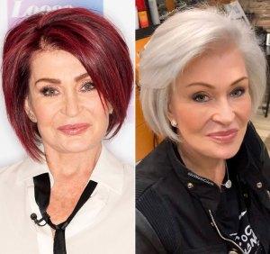Sharon Osbourne's Shocking Hair Transformation
