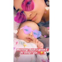 Shay Mitchell's Sweetest Moments With Her Daughter Atlas Too Tired