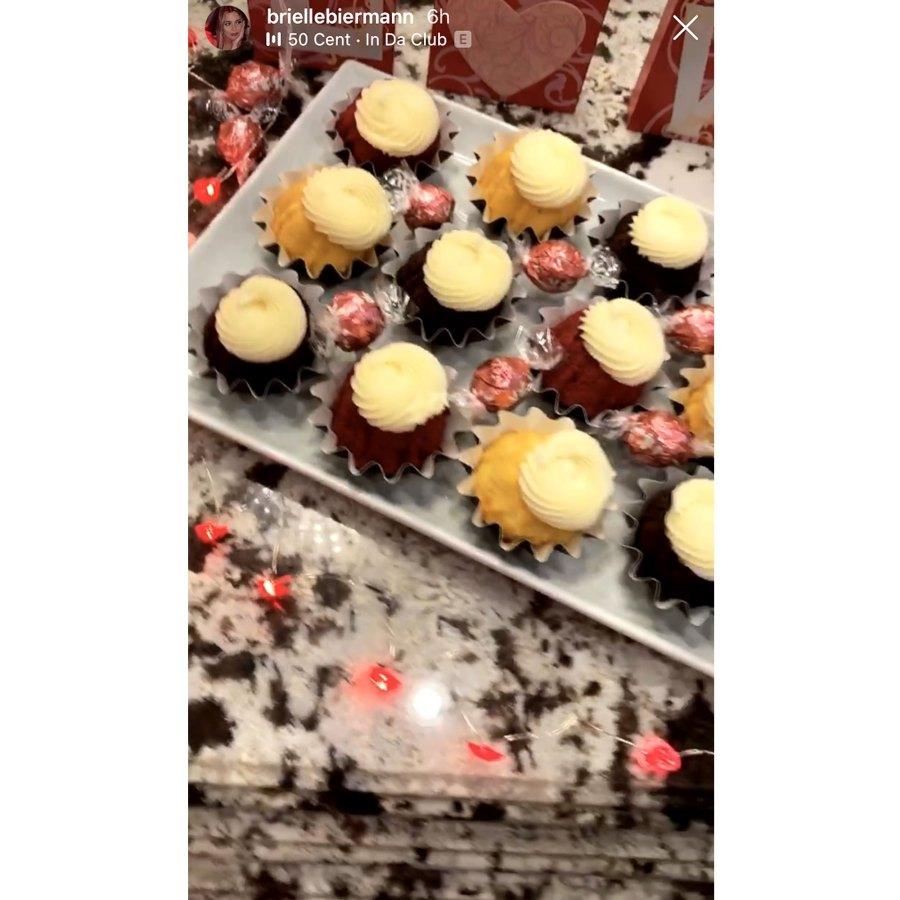 Brielle Biermann Stars Celebrate Valentines Day