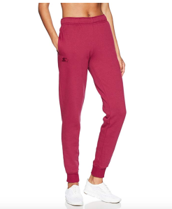 Starter Women's Jogger Sweatpants with Pockets (Team Maroon)