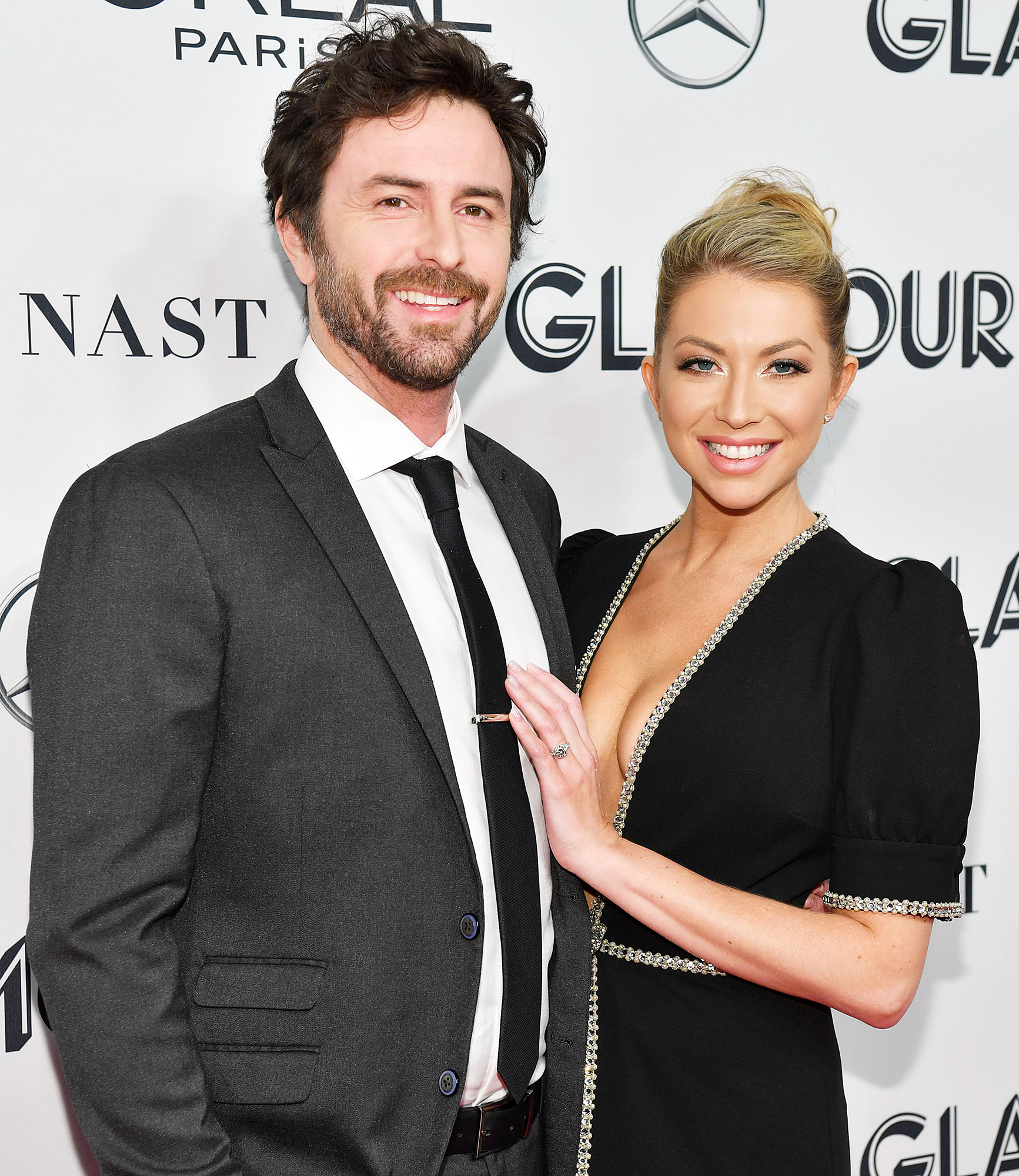 Beau Clark and Stassi Schroeder attend the Glamour Women of the Year Awards Stassi Schroeder Admits She and Beau Clark Were Trying for Baby Before Engagement
