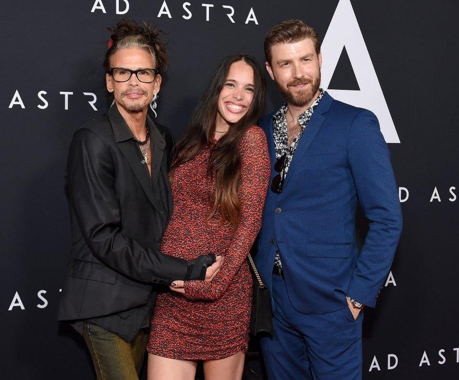 Steven Tyler, Chelsea Tyler and Jon Foster Steven Tyler Becomes a Grandpa for the 5th Time
