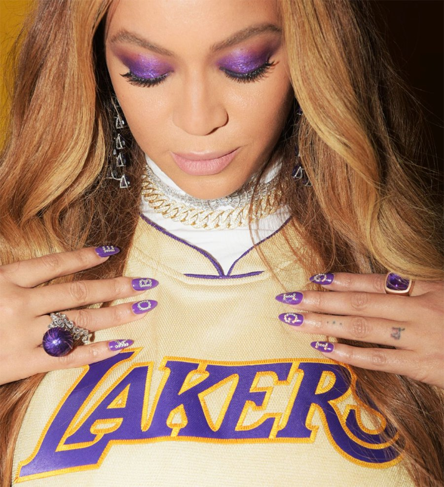 Beyonce J Lo And More Honor Kobe Bryant Gianna With Fashion