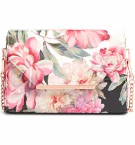 Ted Baker London Paiige Painted Posie Crossbody Bag