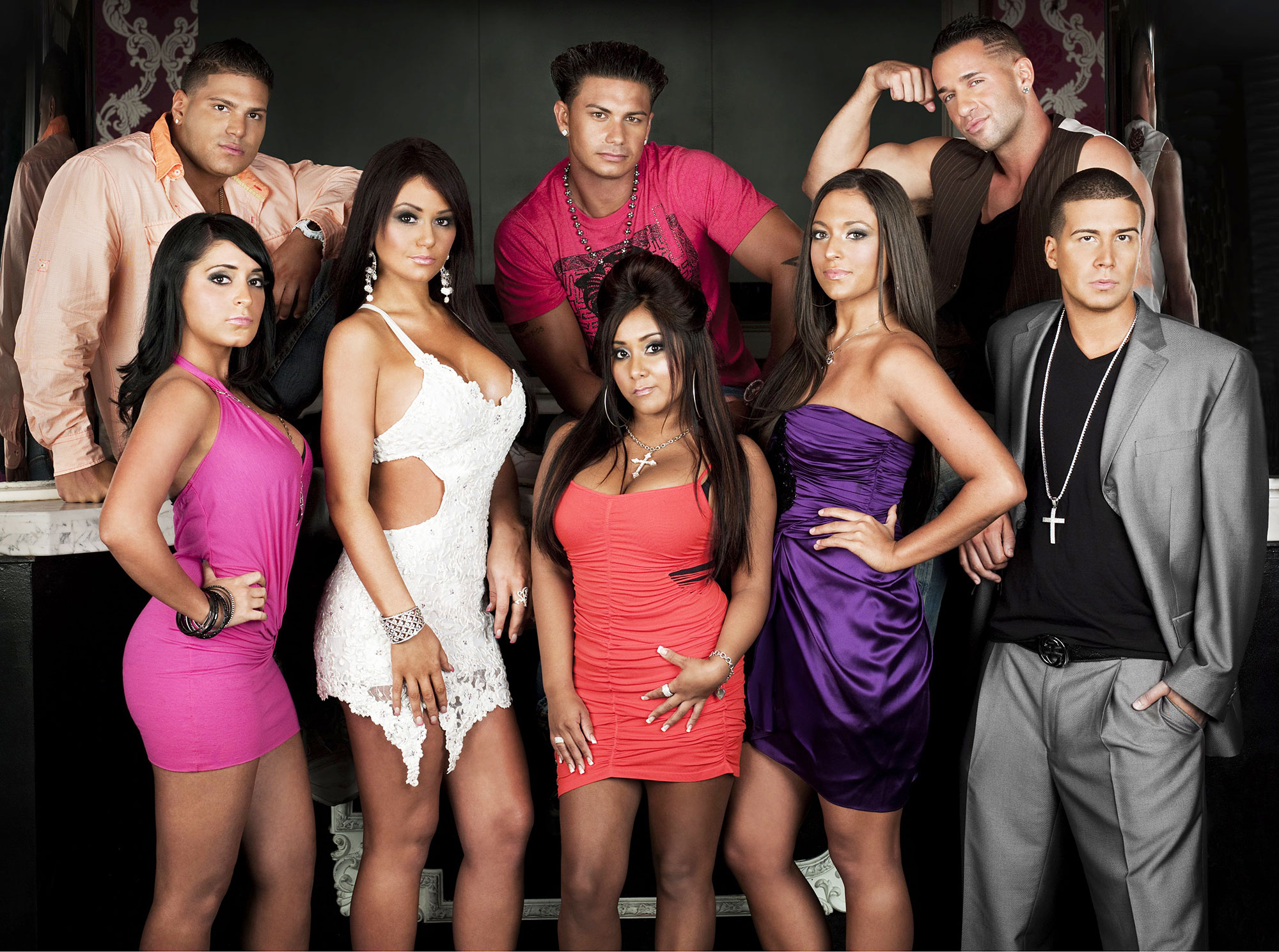 The Cast of Jersey Shore in 2009