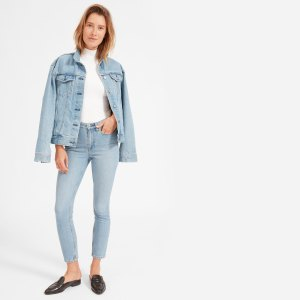 The High-Rise Skinny Jean (Light Blue Wash)
