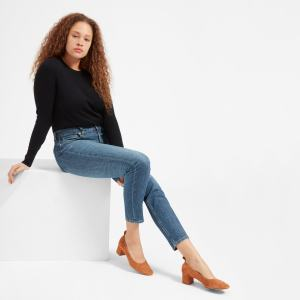 The High-Rise Skinny Jean (Mid Blue)