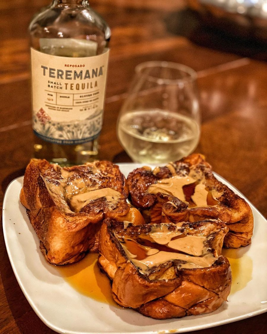 The Rock's Cheat Meals Brioche French Toast and Tequila