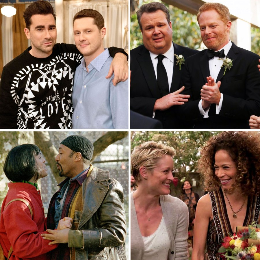The Sweetest LGBTQ Love Stories in Pop Culture History 'Schitt's Creek,' 'Modern Family' and More-main
