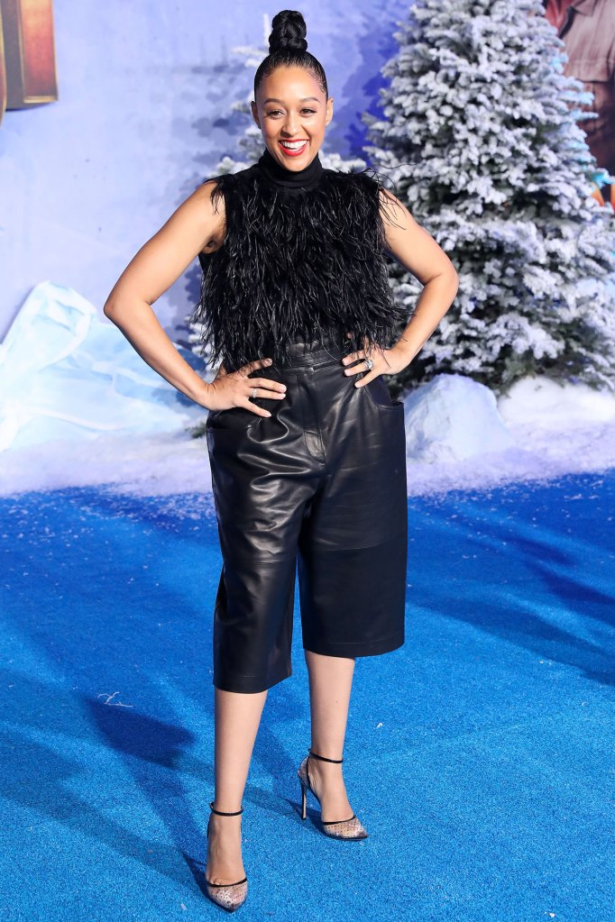 Tia Mowry Hardrict Jumanji Embracing Excess Skin and Stretch Marks After Giving Birth Instagram