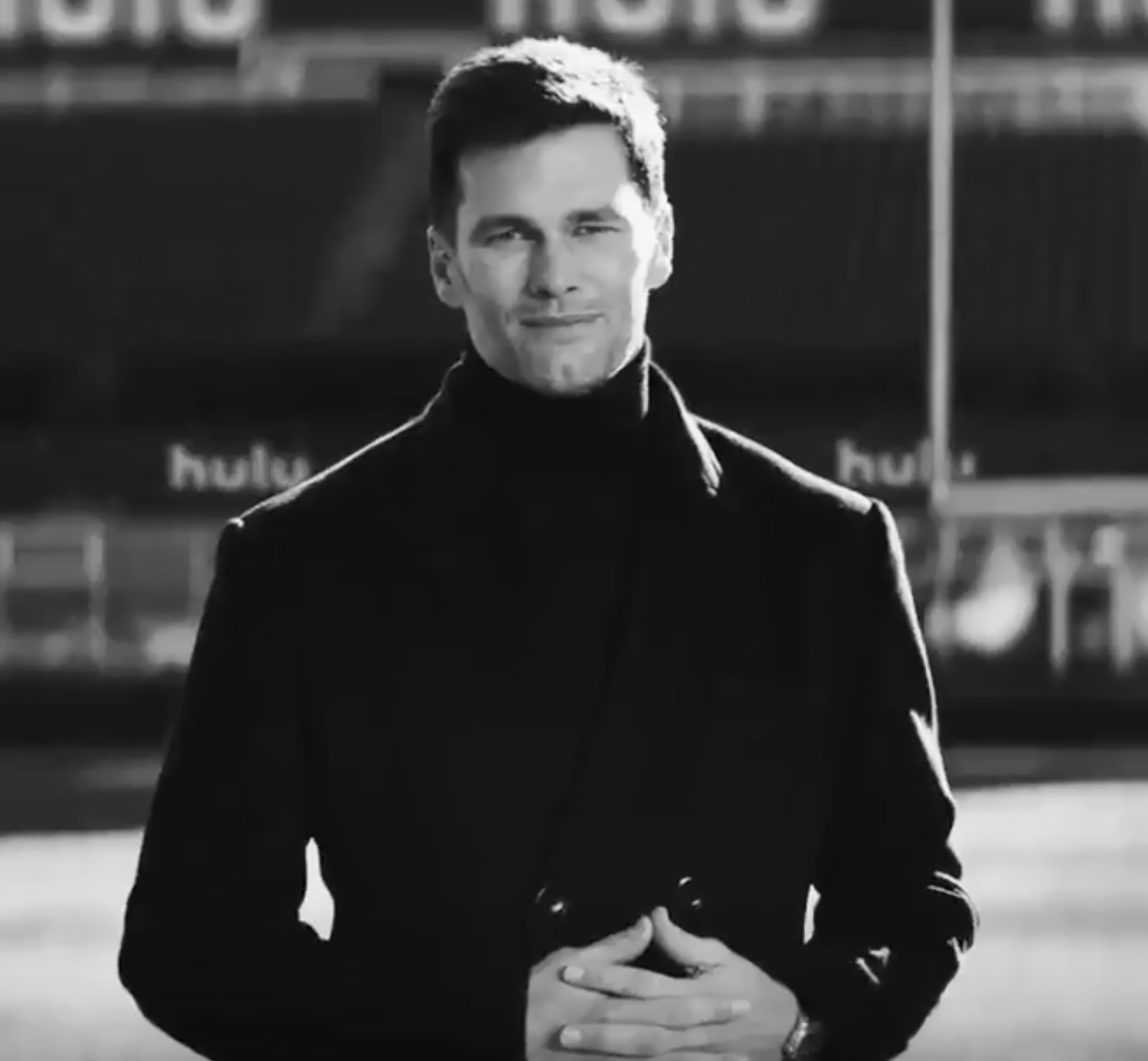 Tom Brady Assures Fans He's 'Not Going Anywhere' in Hulu Super Bowl 2020 Ad After Retirement Rumors