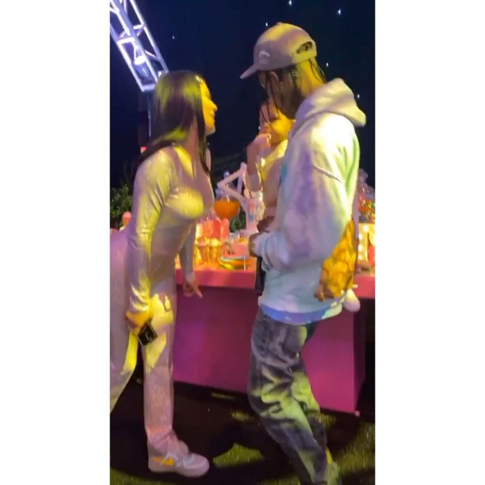 Travis Scott Joins Kylie Jenner at Stormi's 'Stormiworld' 2nd Birthday Party
