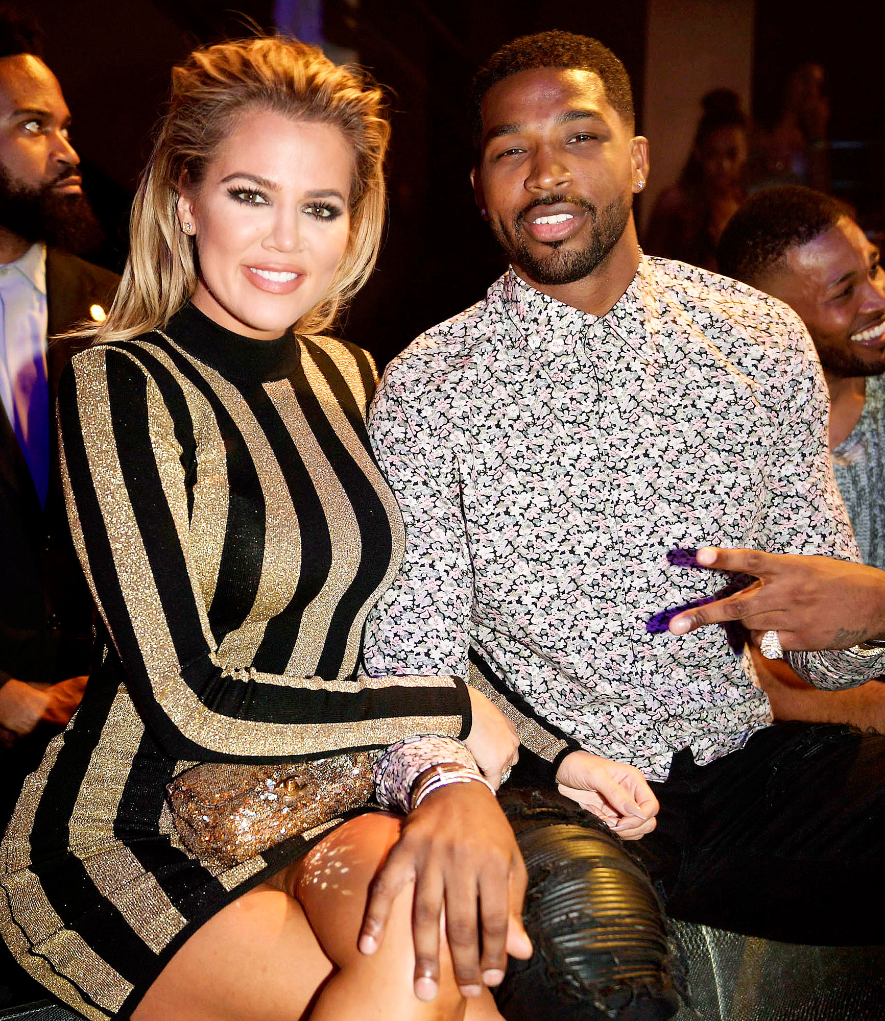Tristan Thompson Comments on Khloe Kardashian and Trues Great Morning Instagram Post