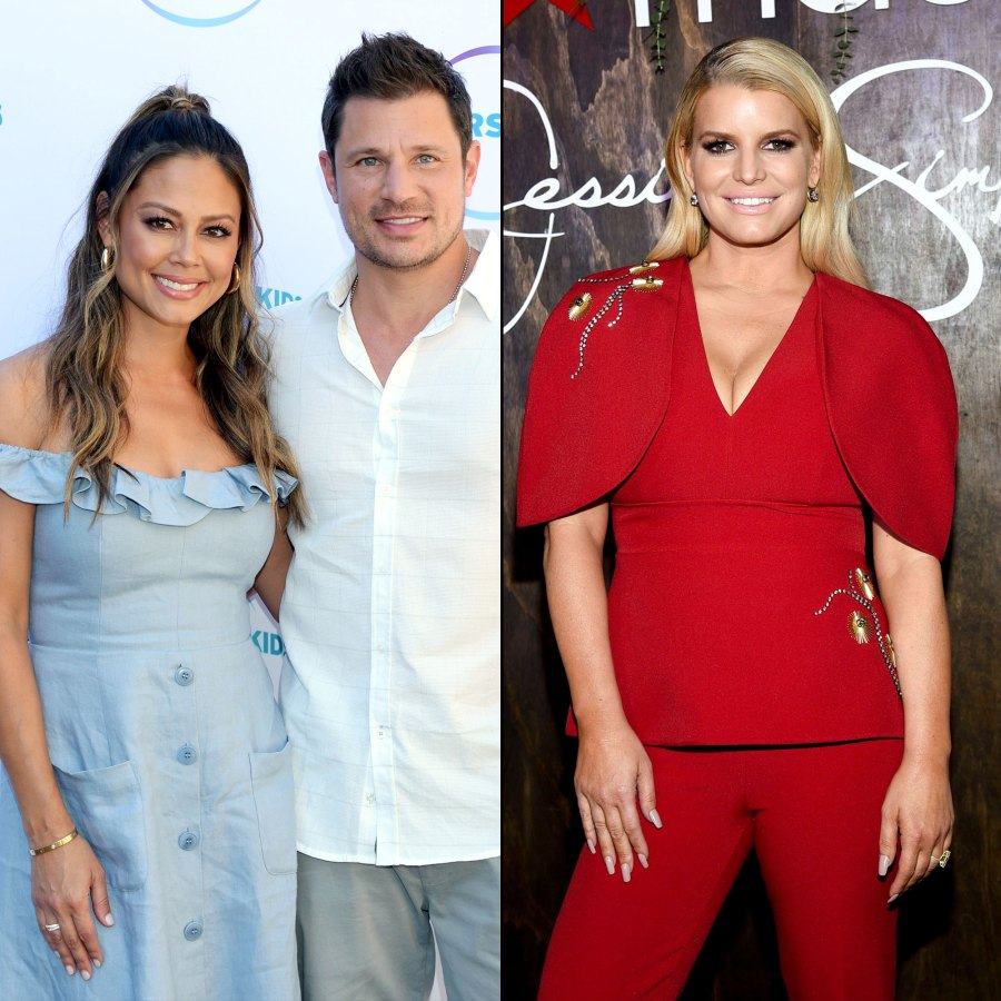 Vanessa Lachey Admits She Had 'Butterflies' Seeing Nick Lachey After His Split From Jessica Simpson