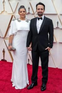 Vanessa Nada and Lin-Manuel Miranda Couples PDA Academy Awards Oscars 2020