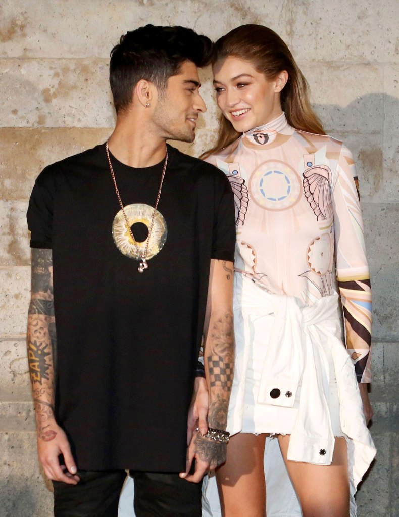 Zayn Malik and Gigi Hadid Givenchy Claps Back at YouTuber Jake Paul