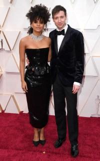 Zazie Beetz and David-Rysdahl Couples PDA Academy Awards Oscars 2020