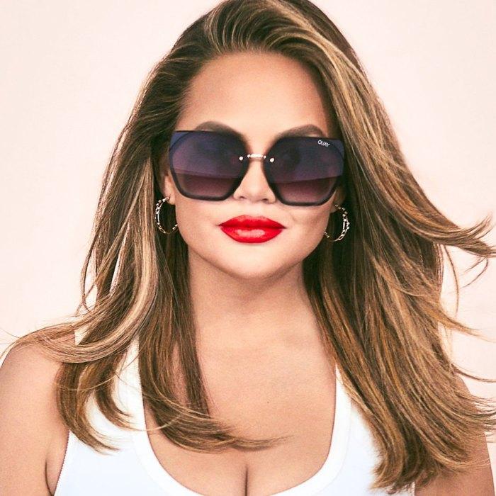 Quay x Chrissy VIP sunglasses