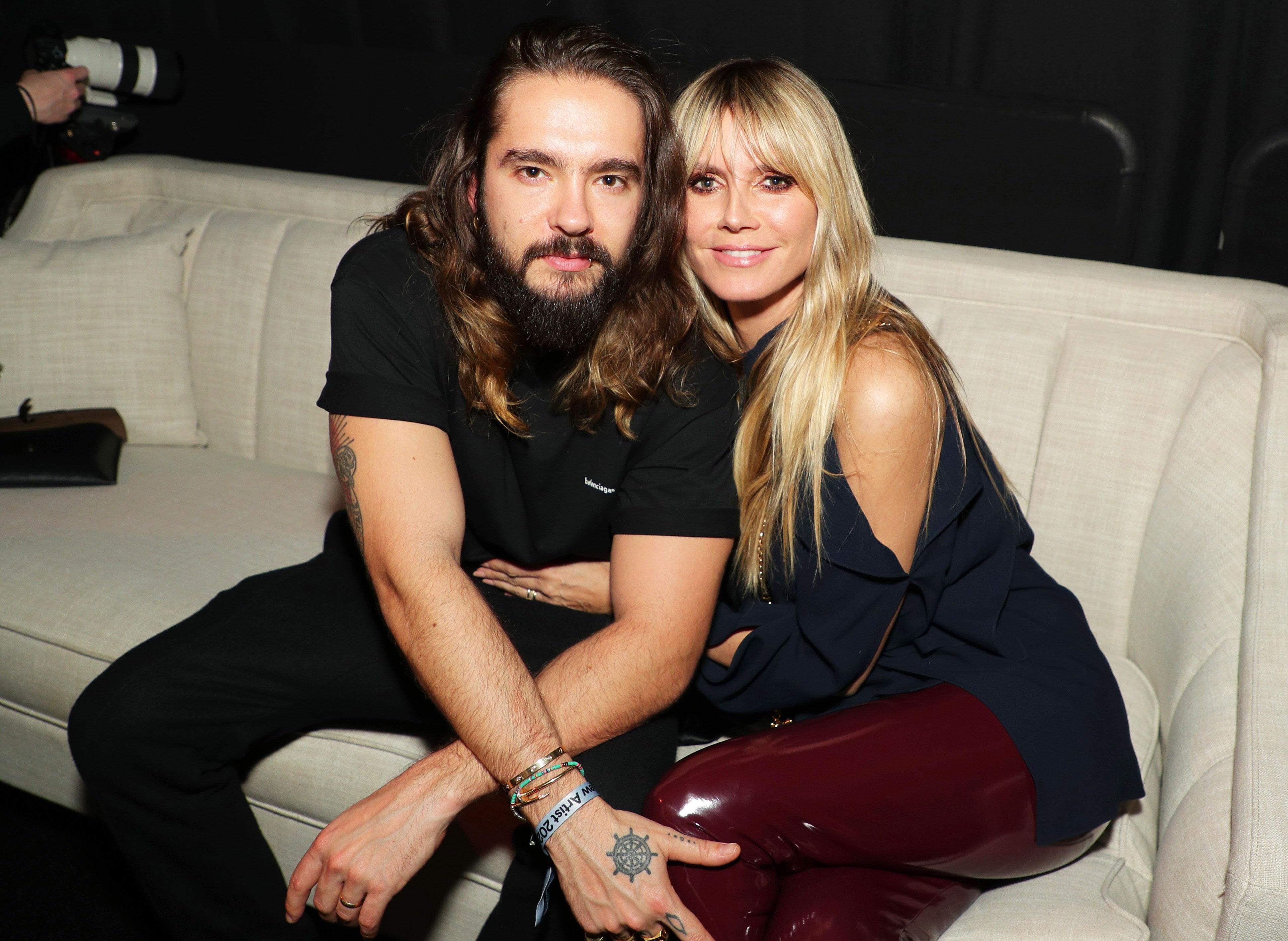 Heidi Klum és Tom Kaulitz már hivatalosan is felvállalja szerelmét | Marie Claire